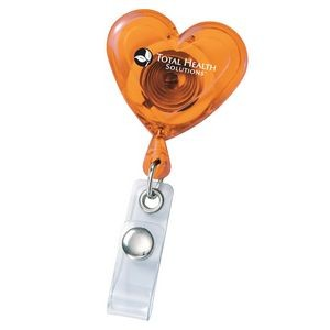 Heart Secure-a-Badge Reel-Closeout