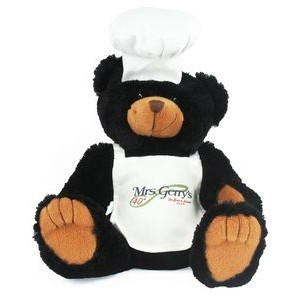 "12"" Chef Bear w/Full Color Imprint"