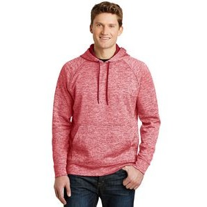 Sport-Tek® Men's PosiCharge® Electric Heather Fleece Hooded Pullover Sweater