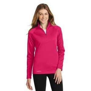 Eddie Bauer® Ladies' Smooth Fleece Base Layer 1/2-Zip Sweater