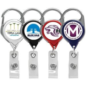 Vibraprint™ Carabiner Badge Reel