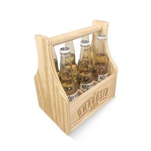 3-In-1 Caddy With Insert To Hold 6 Bottles