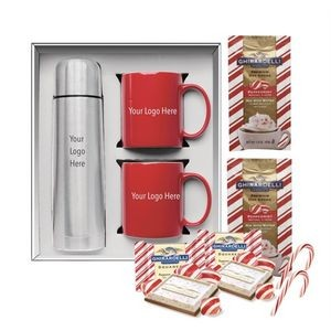 Holiday Cocoa & Mug Gift Set