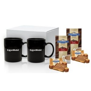 Cocoa & Chocolate Gift Mug Set