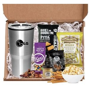 Basket of Cocoa and Cookies