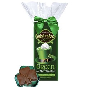 Irish Cocoa & Chocolate Shamrock Kit