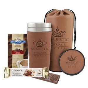 Tumbler, Cocoa & Chocolate Gift Set