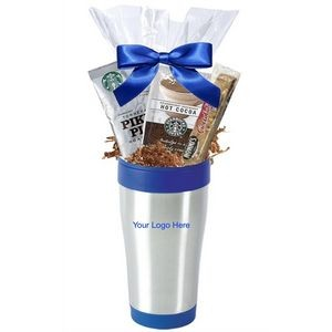 Starbucks Coffee Break, Cocoa & Cookie with Tumbler (Blue)