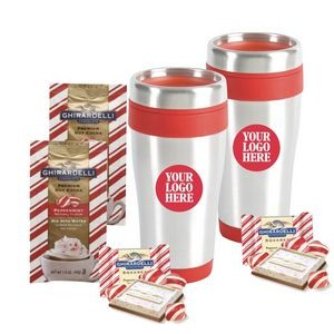 Holiday Cocoa & Chocolate with 2-Tumblers