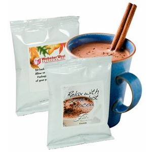 Hot Chocolate w/White Foil Package (Printed Label)