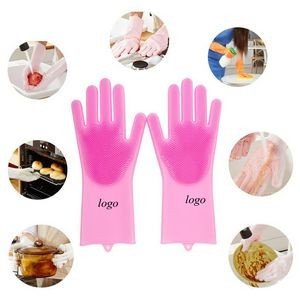 Multi Functional Silicone Cleaning Gloves Dish Washing