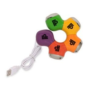 Colorful Four Port USB Hub