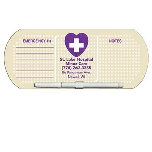 Band Aid/ Pill Offset Printed Memo Board