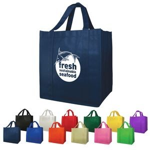 "Non-Woven (13""W x 15""H x 10""D) Shopping Tote Bags"