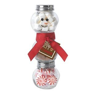 Hot Chocolate Snowman Kit