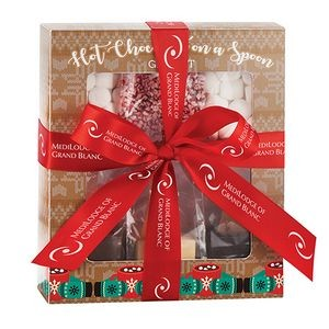 Hot Chocolate on a Spoon Kit Gift Box