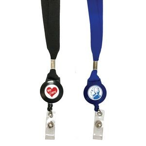 Badge Reel Lanyard