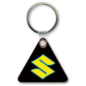 Key Tag - Triangle w/Rounded Corners - Spot Color