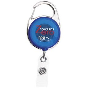 "40"" Carabiner Badge Reel w/ Tape Measure"