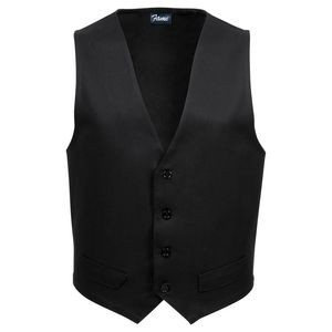 Fame® Female Petite Fitted Twill Vest