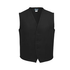 Fame® Tailored 2 Pocket Unisex Vest Available in 8 Colors