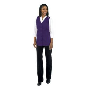 Fame® 2 Pocket Women's Tunic Vest Available in 5 Colors
