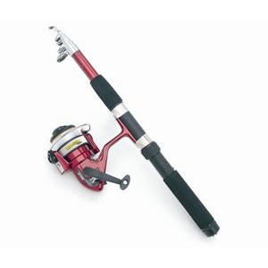 Telescoping Fishing Rod and Reel Set