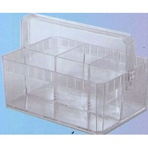 Plastic 4-Compartment Buffet Caddy w/ Handle