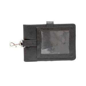 Ashlin® Designer Midnight Black Berwick Vegan Golf Card Caddy