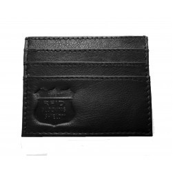 Ashlin® Designer Lorello Midnight Black RFID Blocking Card Caddy
