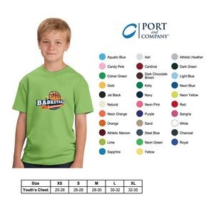 Port And Company?Youth Tagless T-Shirt