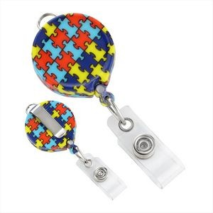 Autism Awareness Stock Badge Reel