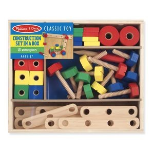 Melissa & Doug Construction Building Set In Box Play Set