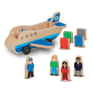 Wooden Airplane Play Set