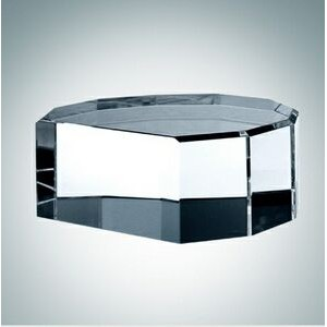 Optional Multi Beveled Optical Crystal Base
